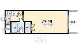 ハイツ紅屋[2階]の間取り