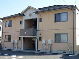 長野県長野市安茂里小市2丁目の賃貸アパートの外観