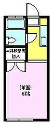 新井コーポ[103号室]の間取り