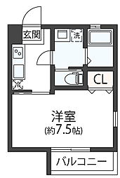 COSMO MM[0305号室]の間取り