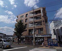 京都府京都市右京区常盤北裏町の賃貸マンションの外観