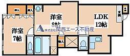 [一戸建] 大阪府大阪市生野区生野西4丁目 の賃貸【/】の間取り