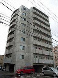 北海道札幌市中央区南十二条西12丁目の賃貸マンションの外観