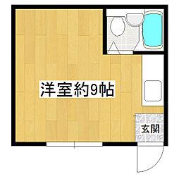 真瀬アパート[2階]の間取り