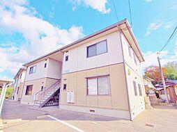 広島県安芸郡熊野町萩原2丁目の賃貸アパートの外観