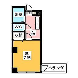 レスポールII[4階]の間取り