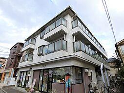 テースト西田中[2階]の外観