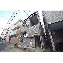 福岡県福岡市中央区今川2丁目の賃貸アパートの外観