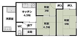 [一戸建] 大阪府三島郡島本町広瀬1丁目 の賃貸【/】の間取り