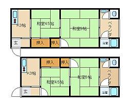 たづる荘[115号室]の間取り