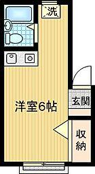 ライトコーポ[1階]の間取り