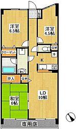 モアステージ戸塚(モアステージトツカ)[1階]の間取り