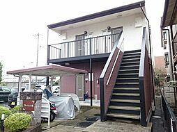 愛知県北名古屋市九之坪竹田の賃貸アパートの外観