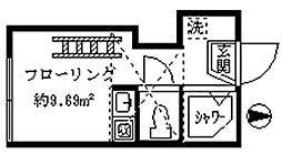 コートレジデンス[2階]の間取り