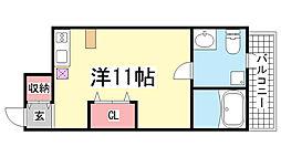 JS大同町[1階]の間取り