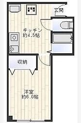 エコーマンション森下弐番館[103号室]の間取り