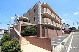 愛知県みよし市東山台の賃貸マンションの外観