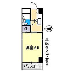 エステート21[2階]の間取り
