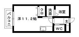 VITA DISTESA[2階]の間取り