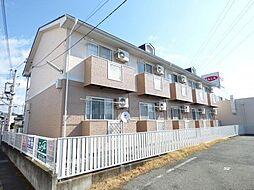 長野県長野市中越1丁目の賃貸アパートの外観