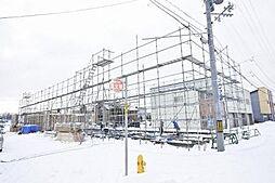 [テラスハウス] 北海道札幌市北区屯田二条1丁目 の賃貸【/】の外観