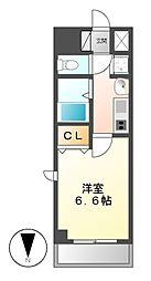プレサンス大須観音駅前サクシード[11階]の間取り
