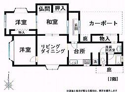 [一戸建] 三重県伊賀市西高倉 の賃貸【/】の間取り