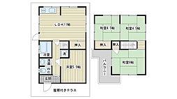 [一戸建] 大阪府高槻市高西町 の賃貸【/】の間取り