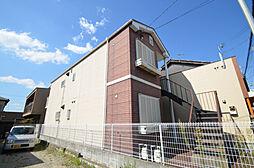 兵庫県姫路市飾磨区栄町の賃貸アパートの外観