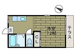 T・M・ハイツ[1階]の間取り