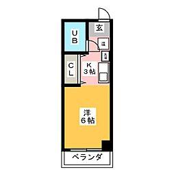 グレートホース・N[3階]の間取り
