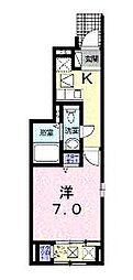 クリーン・カーサ東島[101号室]の間取り