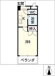 プレステージ35[4階]の間取り