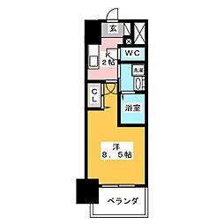 丸東レジデンス大須[9階]の間取り