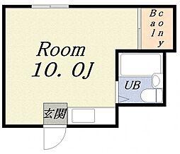 インテリジェンス樋上II[4階]の間取り