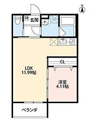 square(スクウェア)[3階]の間取り