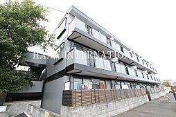 東京都府中市日新町3丁目の賃貸アパートの外観
