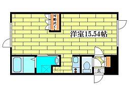 ル・フォート清田II[3階]の間取り