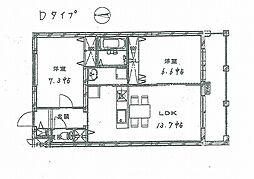 メゾンラヴィ[3階]の間取り