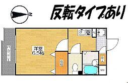 マッティーナ神戸参番館[1階]の間取り