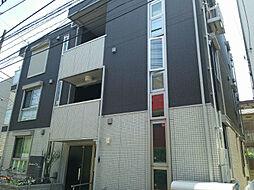神奈川県川崎市中原区小杉町1丁目の賃貸アパートの外観