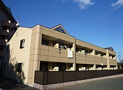 福岡県飯塚市菰田の賃貸アパートの外観