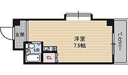 アメニティ淡路[5階]の間取り