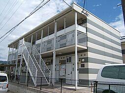 京都府宇治市木幡南山の賃貸アパートの外観