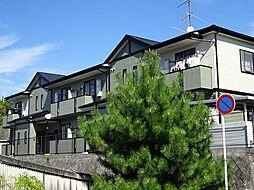 広島県東広島市西条中央8丁目の賃貸アパートの外観
