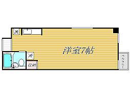 東京都新宿区東五軒町の賃貸マンションの間取り