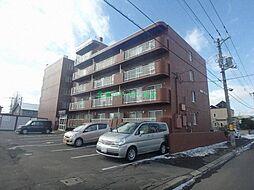 北海道札幌市東区東苗穂五条3丁目の賃貸マンションの外観