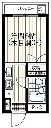 ハイツしんみせ[305号室]の間取り