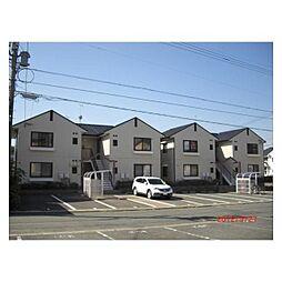 福岡県北九州市八幡西区白岩町の賃貸アパートの外観