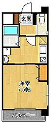 ランド・アート西宮[3階]の間取り